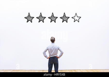 rating concept - Stock Photo