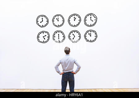 time management concept - Stock Photo