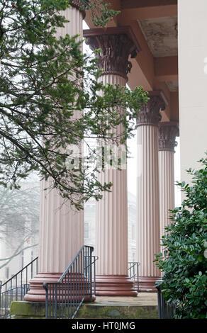Playmakers Theater, University of North Carolina, Chapel Hill, UNC - Stock Photo