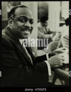 Portrait of Count Basie, 1950s. Artist: Denis Williams - Stock Photo
