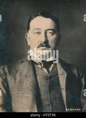 'Cecil Rhodes', (1853-1902), English-born South African entrepreneur and statesman, 1894-1907. Artist: Alexander - Stock Photo