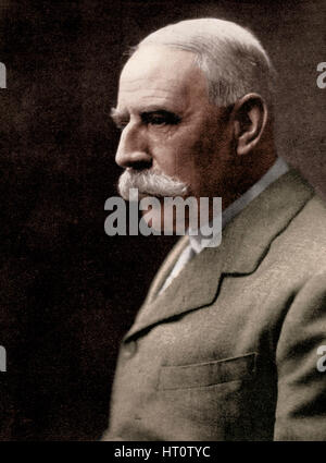 Sir Edward Elgar, (1857-1934), English composer, early 20th century.  Artist: Unknown. - Stock Photo
