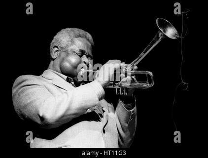 Dizzy Gillespie , Royal Festival Hall, London, July 1985.  Artist: Brian O'Connor - Stock Photo