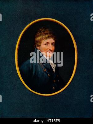'Messinger Monsey', 18th century. Artist: Henry Edridge. - Stock Photo
