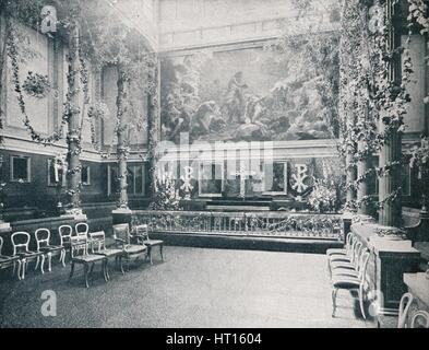 The Private Chapel of Buckingham Palace, c1910 (1911). Artist: HN King. - Stock Photo