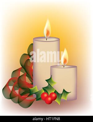 Christmas bells decoration - Stock Photo