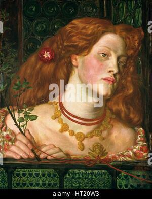 'Fair Rosamund', 1861. Artist: Dante Gabriel Rossetti - Stock Photo