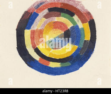 Color Wheel (Farbkreis), 1913-1914. Artist: Macke, August (1887-1914) - Stock Photo