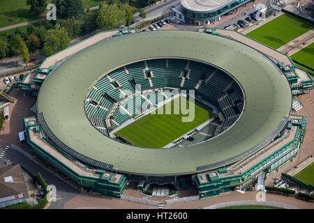 No 1 Court, All England Lawn Tennis and Croquet Club, Wimbledon, London, 2006. Artist: Historic England Staff Photographer. - Stock Photo