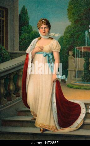 'Königin Luise von Preussen', c1910. Artist: Unknown. - Stock Photo