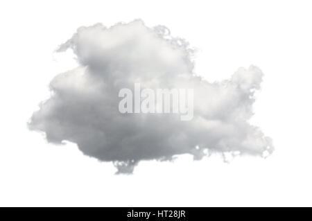 Concept image for cloud computing and online applications isolated against white - Stock Photo