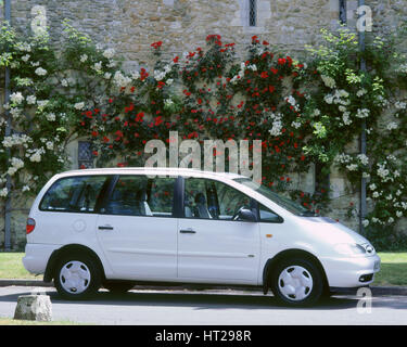 1995 Ford Galaxy. Artist: Unknown. - Stock Photo