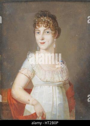Duchess Maria Elisabeth in Bavaria (1784-1849), Princess of Wagram, c. 1810. Artist: Anonymous - Stock Photo