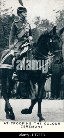'At Trooping The Colour Ceremony', 1932 (1937). Artist: Unknown. - Stock Photo