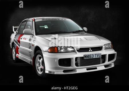 1995 Mitsubishi Lancer Evo 3 Artist: Unknown. - Stock Photo