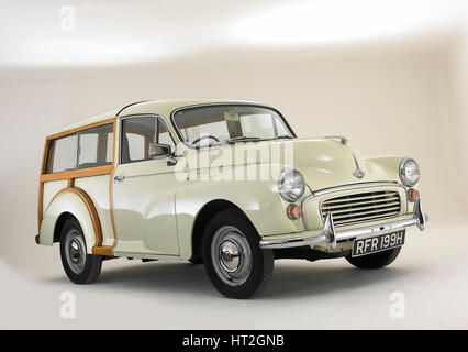 1970 Morris Minor Traveller Artist: Unknown. - Stock Photo