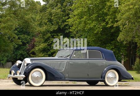 1938 Lancia Astura Convertible Artist: Unknown. - Stock Photo