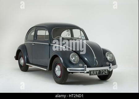 1953 Volkswagen Beetle Export Artist: Unknown. - Stock Photo