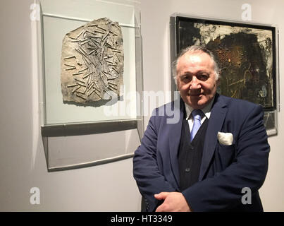 Moscow, Russia. 6th Mar, 2017. The director of the centre for Art and Media Technoloy (ZKM Karlsruhe), Peter Weibel, - Stock Photo