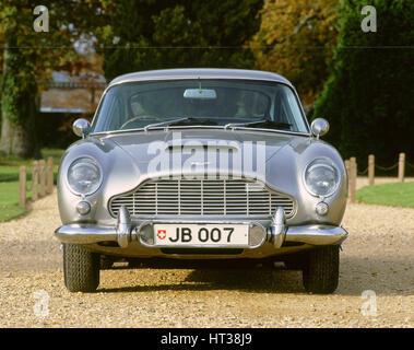 1965 Aston Martin DB5, James Bond. Artist: Unknown. - Stock Photo