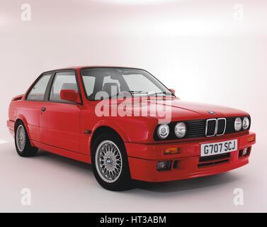 1990 BMW 325i Sport. Artist: Unknown. - Stock Photo