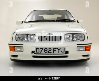 1986 Ford Sierra RS Cosworth. Artist: Unknown. - Stock Photo