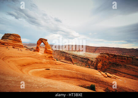 Sunrise at Bryce Canyon National Park, Utah, USA. From Sunset Point - Stock Photo