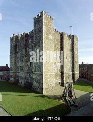 Dover Castle, c1990-2010. Artist: Unknown. - Stock Photo