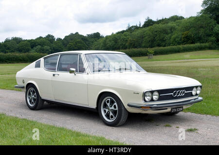 1973 Audi 100 Coupe S Artist: Unknown. - Stock Photo