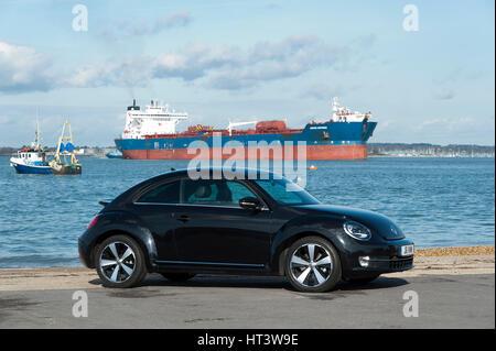 2012 Volkswagen Beetle Artist: Unknown. - Stock Photo