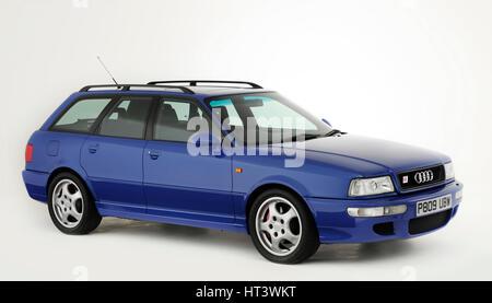 1995 Audi RS2 Estate Artist: Unknown. - Stock Photo