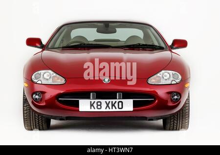1999 Jaguar XK8 coupe Artist: Unknown. - Stock Photo