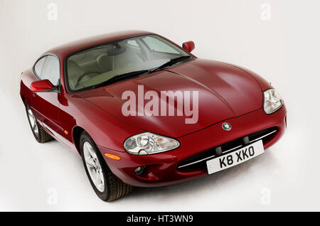 1999 Jaguar XK8 coupe Artist: Unknown. - Stock Photo