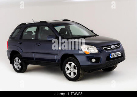 2009 Kia Sportage XS Artist: Unknown. - Stock Photo