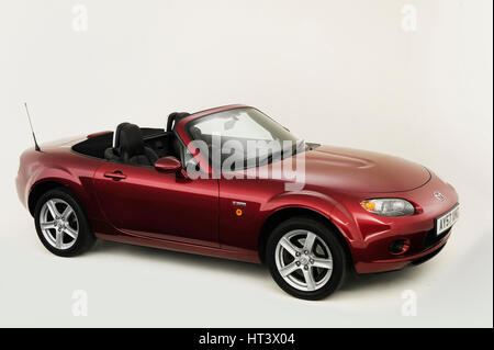 2007 Mazda MX5 Artist: Unknown. - Stock Photo