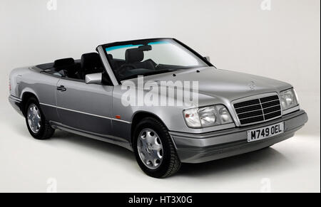 1995 Mercedes Benz E220 Convertible Artist: Unknown. - Stock Photo