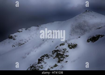 Rudoka / Maja e Njeriut the highest peak of Kosovo on the border with Macedonia - Stock Photo
