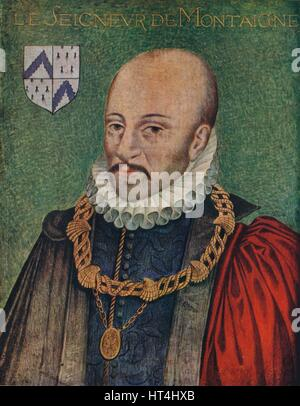 french essayist michel de montaigne On this date in 1533, essayist michel eyquem de montaigne was born near bordeaux his mother's spanish-portuguese family had converted from judaism to protestantism.