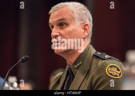 U.S. Homeland Security Director of Joint Task Force-West Paul Beeson testifies before the House Homeland Security - Stock Photo
