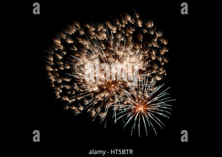 heart shaped firework