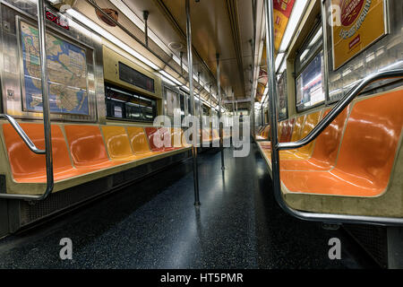 new york city subway inside and underground with steps and stock photo royalty free image. Black Bedroom Furniture Sets. Home Design Ideas