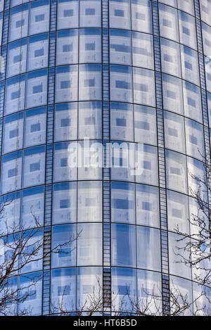 1 Blackfriars or One Blackfriars (informally known as The Vase) is a mixed-use development under construction at - Stock Photo