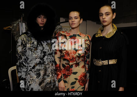 Paris, France. 07th Mar, 2017. Junko Shimada collection during the Paris fashion week ready to wear. Credit: Gaetano - Stock Photo