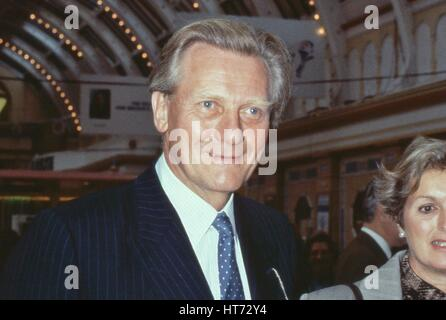 Michael Heseltine, Conservative party Member of Parliament for Henley and former Secretary of State for Defence, - Stock Photo