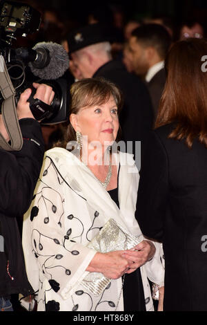 London, UK. 08th Mar, 2017. Pauline Collins attending the World Premiere of THE TIME OFTHEIR LIVES at the Curzon - Stock Photo