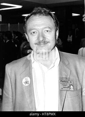 Ken Livingstone, Labour party Member of Parliament for Brent East, attends the party conference in Brighton, England - Stock Photo