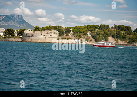 Toulon Naval Port, France - Stock Photo