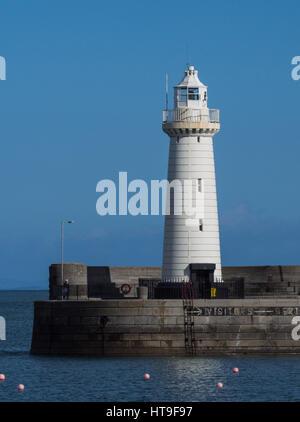 Donaghadee Lighthouse - Stock Photo