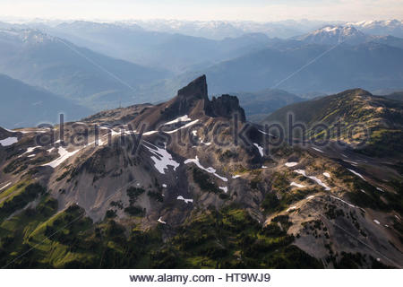 Summer view of black tusk mountain seen from the overlord trail the black tusk garibaldi park bc canada stock photo sciox Choice Image