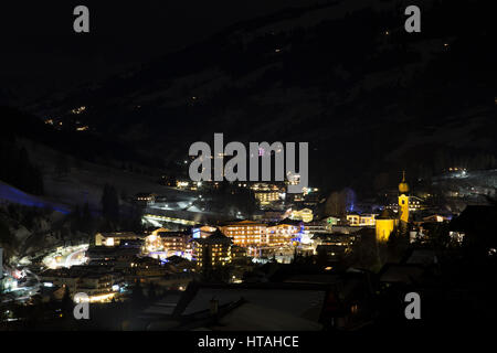 Saalbach - Austrian Ski Resort - Stock Photo